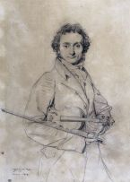 Jean-Auguste-Dominique Ingres: The Violinist Niccolò Paganini