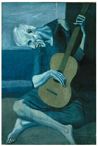 Pablo Picasso: The Old Guitarist
