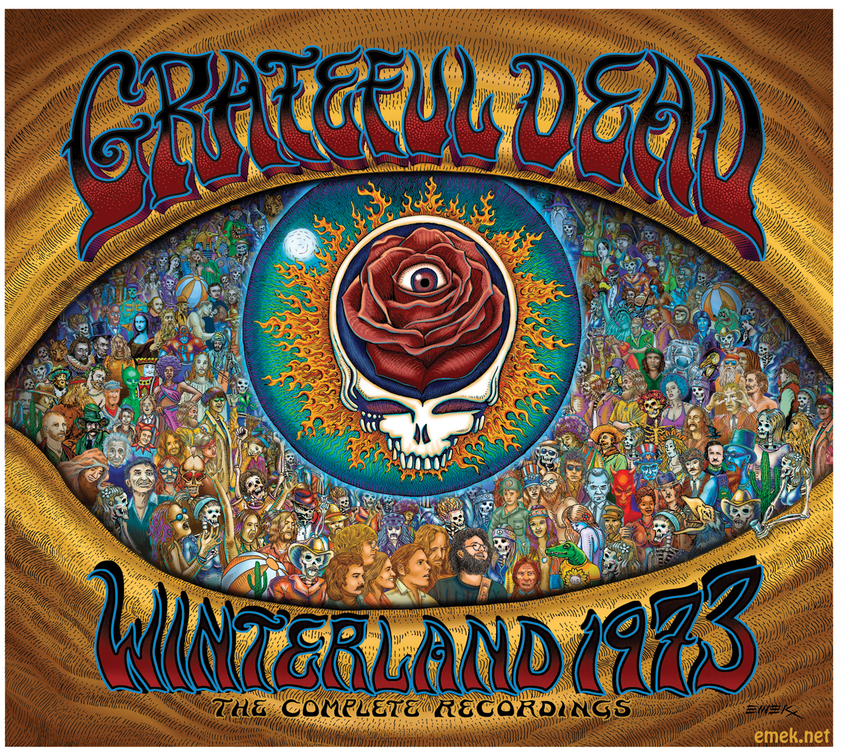 Group Of Dead Set Grateful Dead Wallpaper