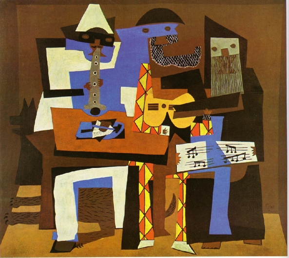 Picasso -- Three Musicians