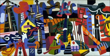 Stuart Davis — Swing Landscape